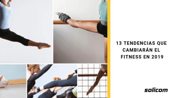 13 Tendencias que cambiarán el fitness en 2019