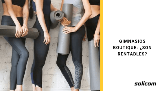 Gimnasios boutique: ¿Son rentables?