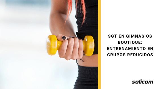 SGT en gimnasios boutique: entrenamiento en grupos reducidos